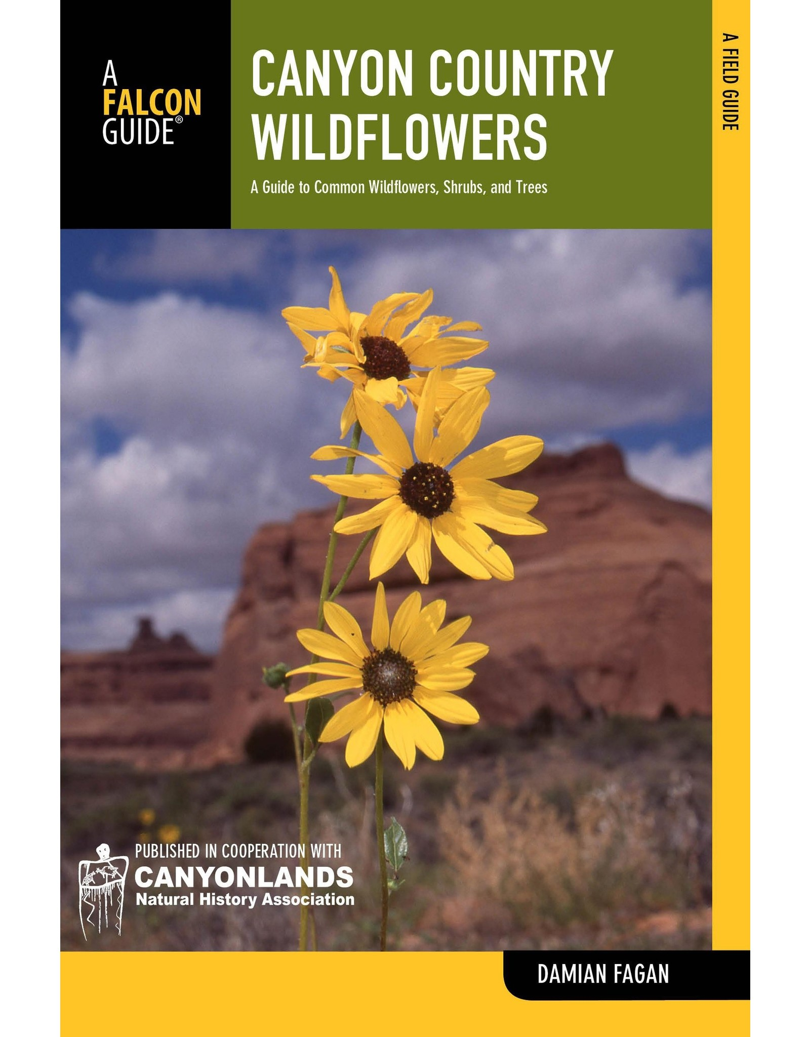 NATIONAL BOOK NETWRK Canyon Country Wildflowers: A Guide To Common Wildflowers, Shrubs, And Trees (Wildflower Series)Paperback