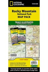 LIBERTY MOUNTAIN Rocky Mountain National Park [Map Pack Bundle] (National Geographic Trails Illustrated Map)