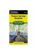 Nat Geo National Geographic Maps Trails Illustrated Map Pagosa Springs/Bayfield