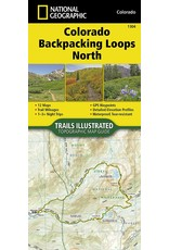 Nat Geo Colorado Backpack Loops North (National Geographic Topographic Map Guide (1304)) Map