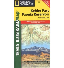 Nat Geo KEBLER PASS PAONIA RESERVOIR NO. 133