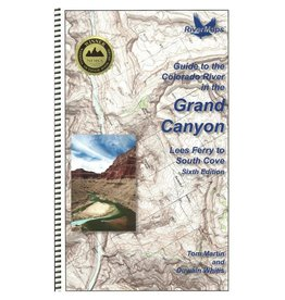 River maps GUIDE TO THE COLORADO  IN THE GRAND CANYON