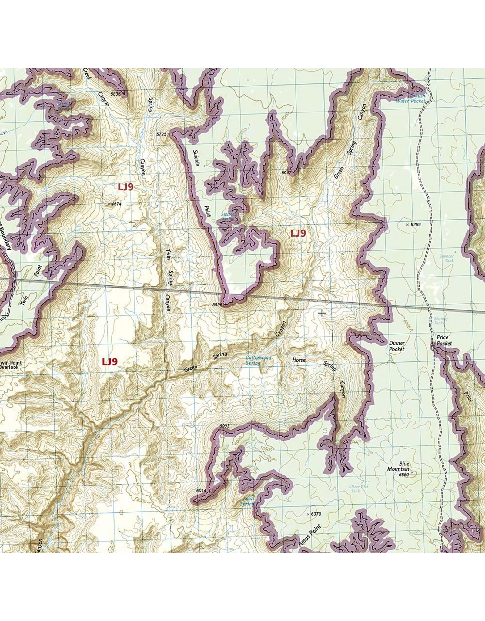 Grand Canyon West [Grand Canyon National Park] (National Geographic Trails Illustrated Map) (National Geographic Trails Illustrated Map, 263) Map – Folded Map