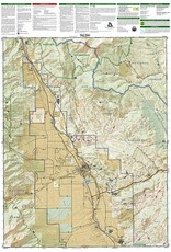 Buena Vista, Collegiate Peaks (National Geographic Trails Illustrated Map, 129) Map – Folded Map