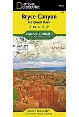 Bryce Canyon National Park (National Geographic Trails Illustrated Map, 219) Map – Folded Map
