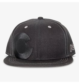 Aksels Aksels Colorado Big C Lined Snapback Hat