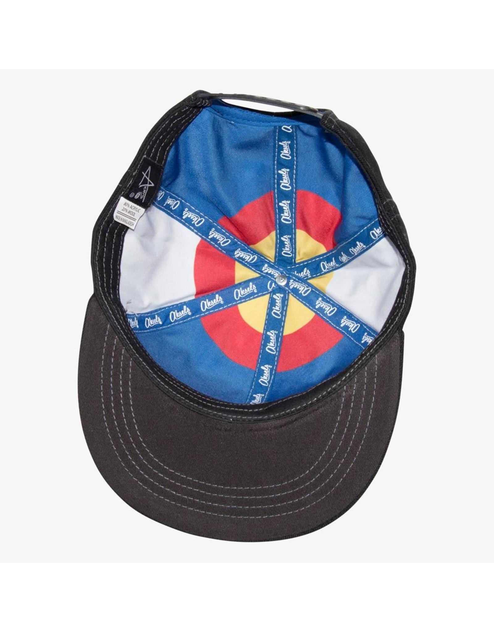 Aksels Colorado Big C Lined Snapback Hat