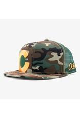 Aksels Colorado Big C Trucker Hat - Camo