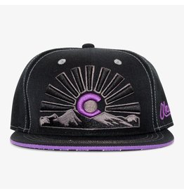 Aksels Colorado Sunset Views Snapback Hat