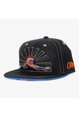 Aksels Askels Colorado Sunset Views Snapback Hat - Orange