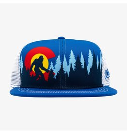 Aksels Askels Colorado Bigfoot Trucker Hat