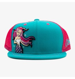 Aksels Aksels Kids Mermaid Trucker Hat