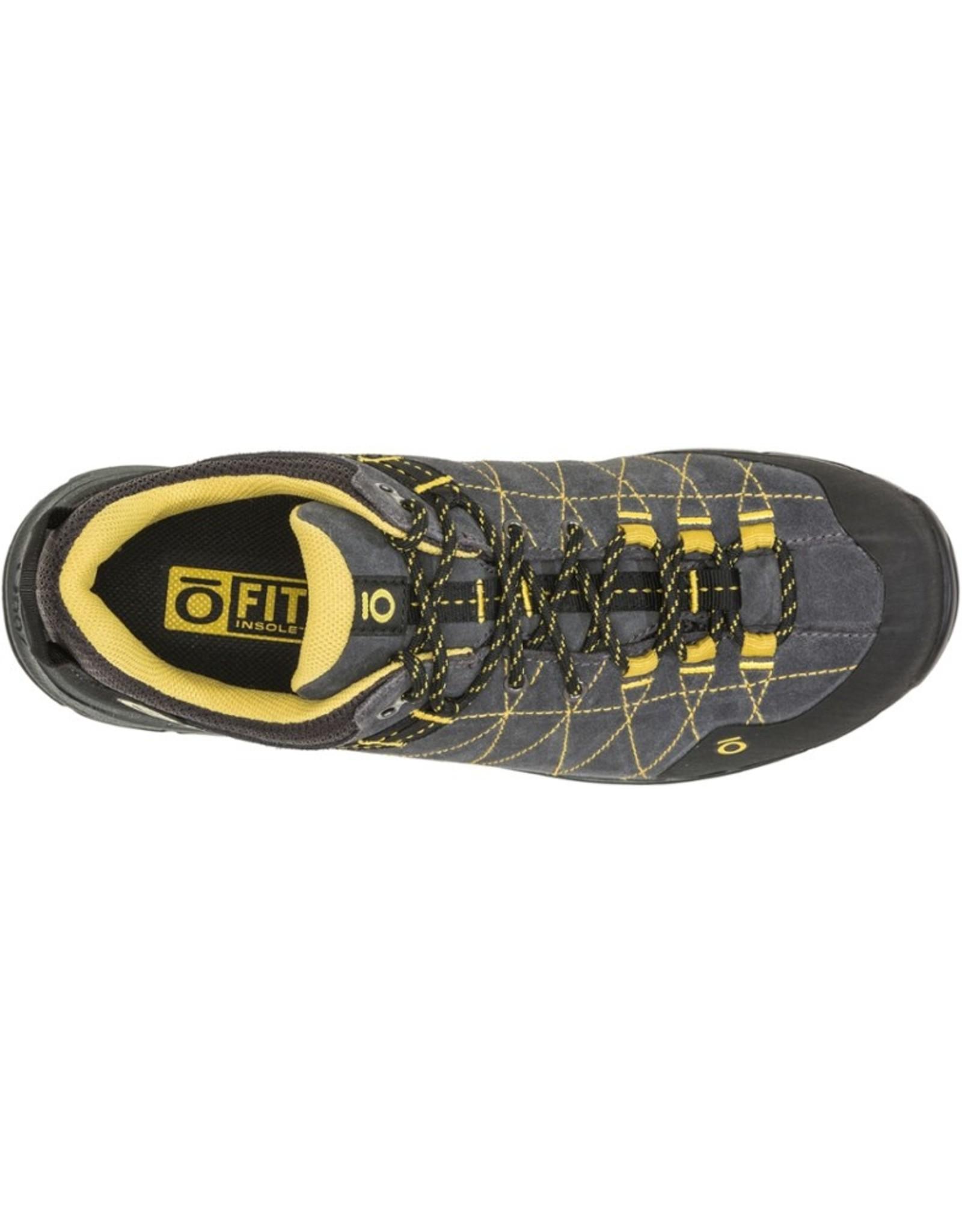 Oboz Men's Hyalite Low Shoe Dark Shadow / Lichen 8.5