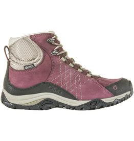 Oboz Sapphire Mid Waterproof Hiking Boots - Boysenberry  8