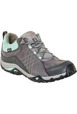 Oboz Women's Sapphire Low B-Dry Waterproof Hiking Shoe Charcoal / Beach Glass 10.5