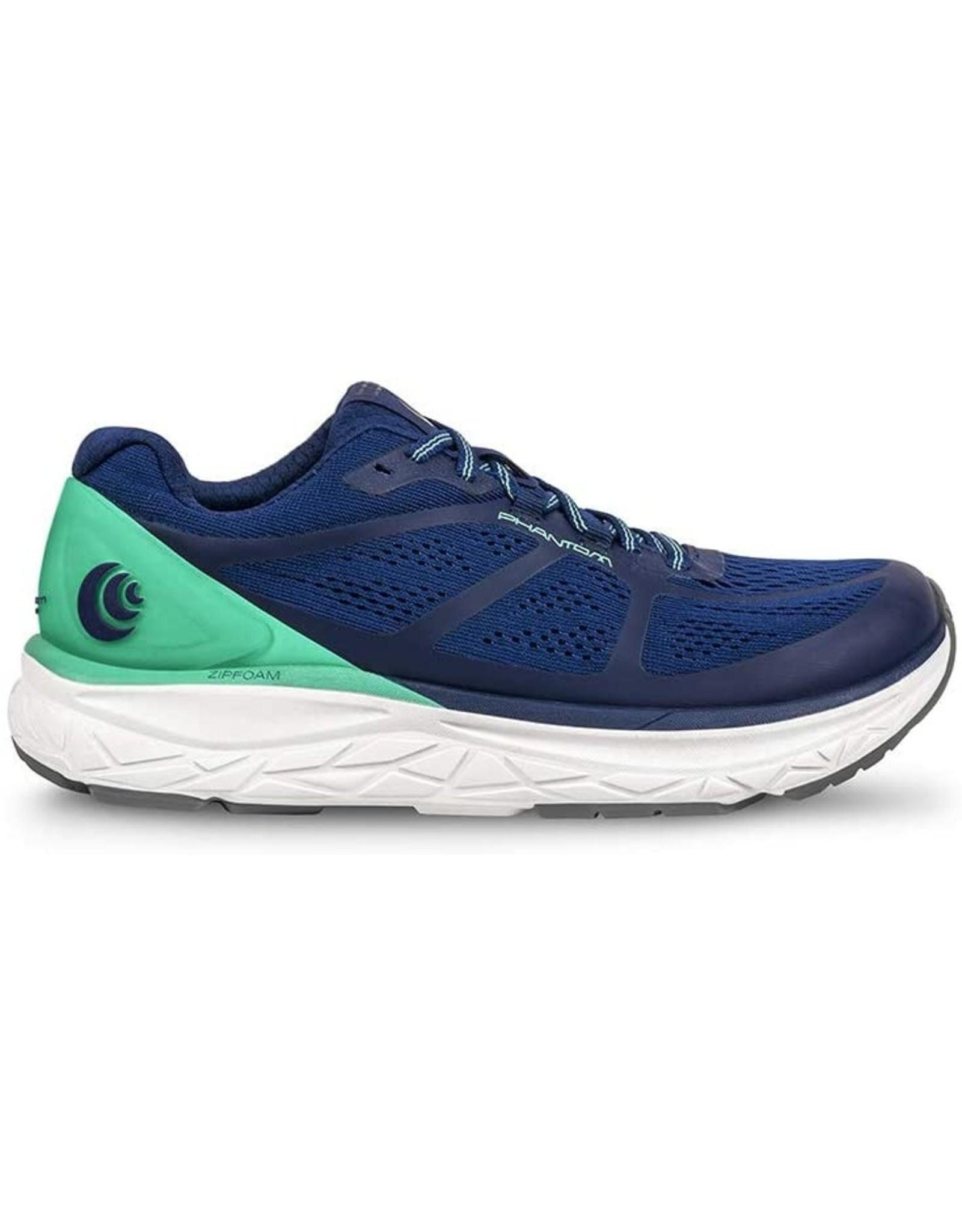 Topo Athletic Phantom Women's Road Running Shoe Cobalt / Seafoam Size 10