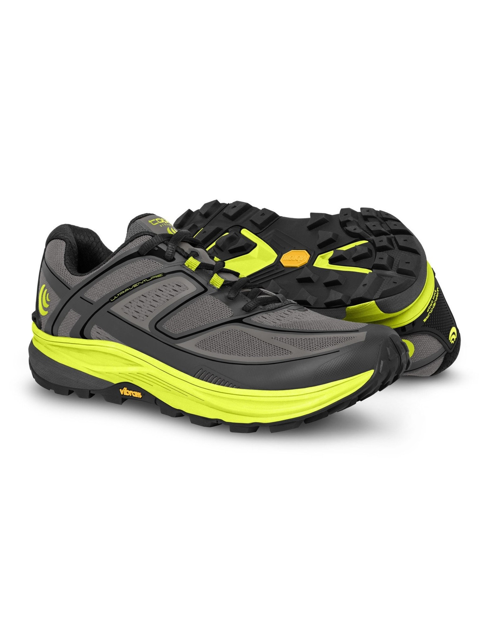 Topo Athletic  Topo Athletic Ultraventure Trail-Running Shoes - Grey/Green, Men's, Size 11