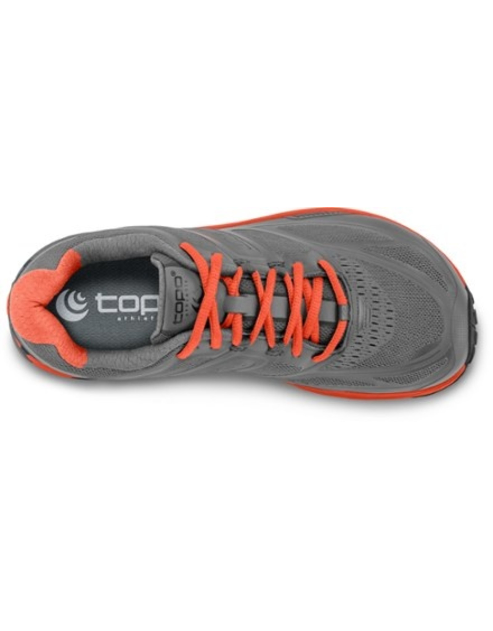 Topo Athletic  Topo Athletic Ultraventure Trail-Running Shoes -  Grey/Tangerine, Women's, Size 8.5