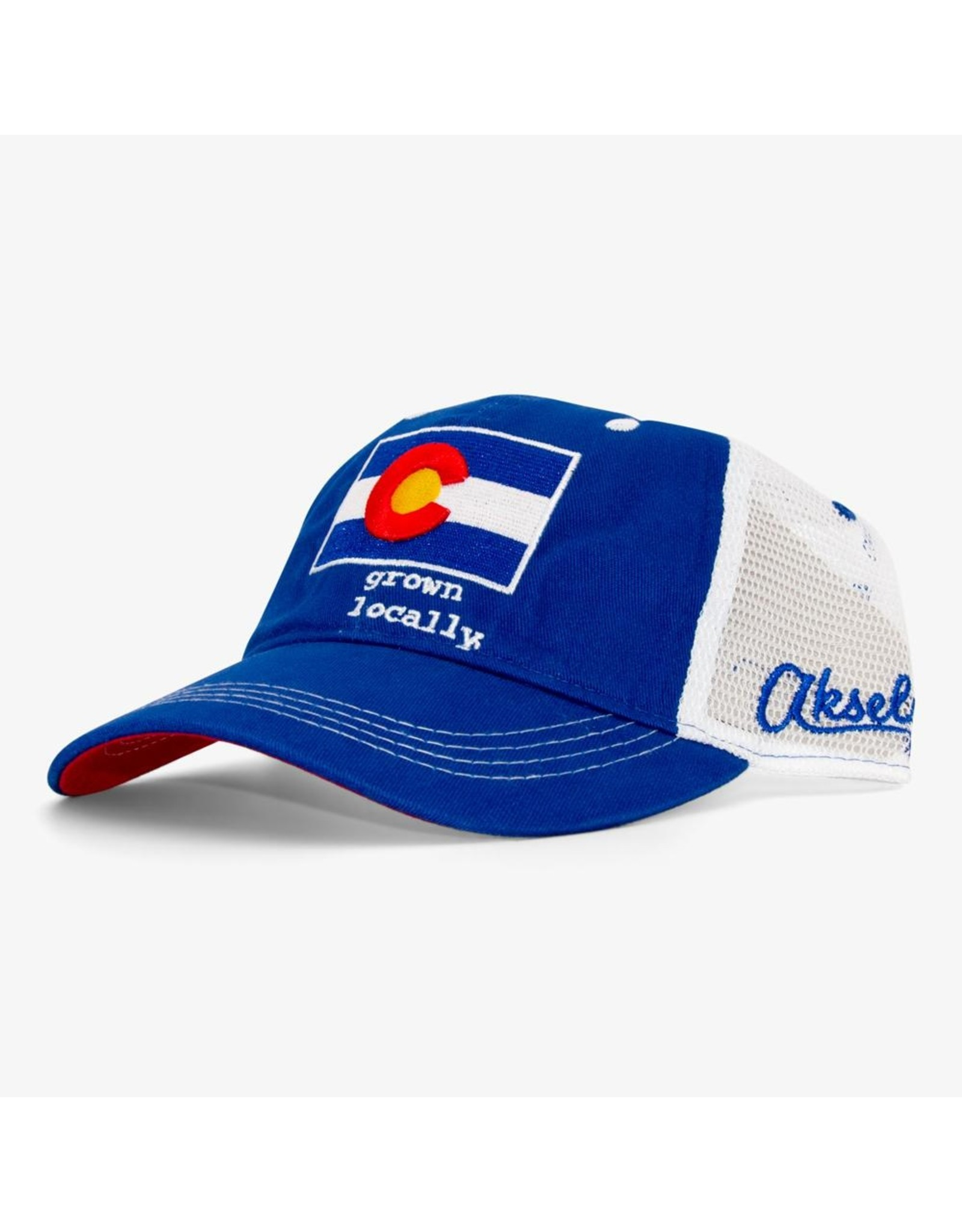 AKSELS Colorado Grown Locally Curved Trucker Hat