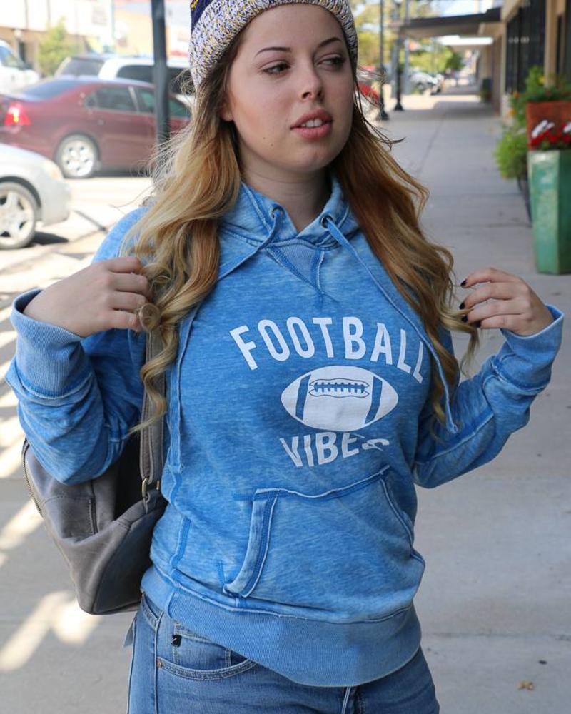 Football Vibes Hoodie