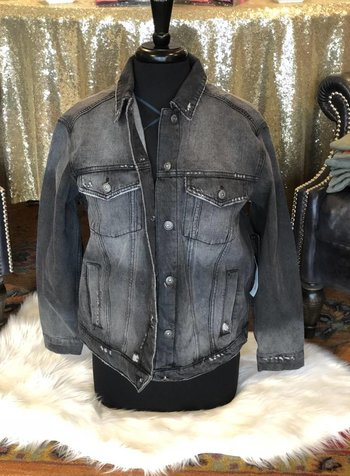 Sneak Peek Black Jean Jacket - Sneak Peek Denim -