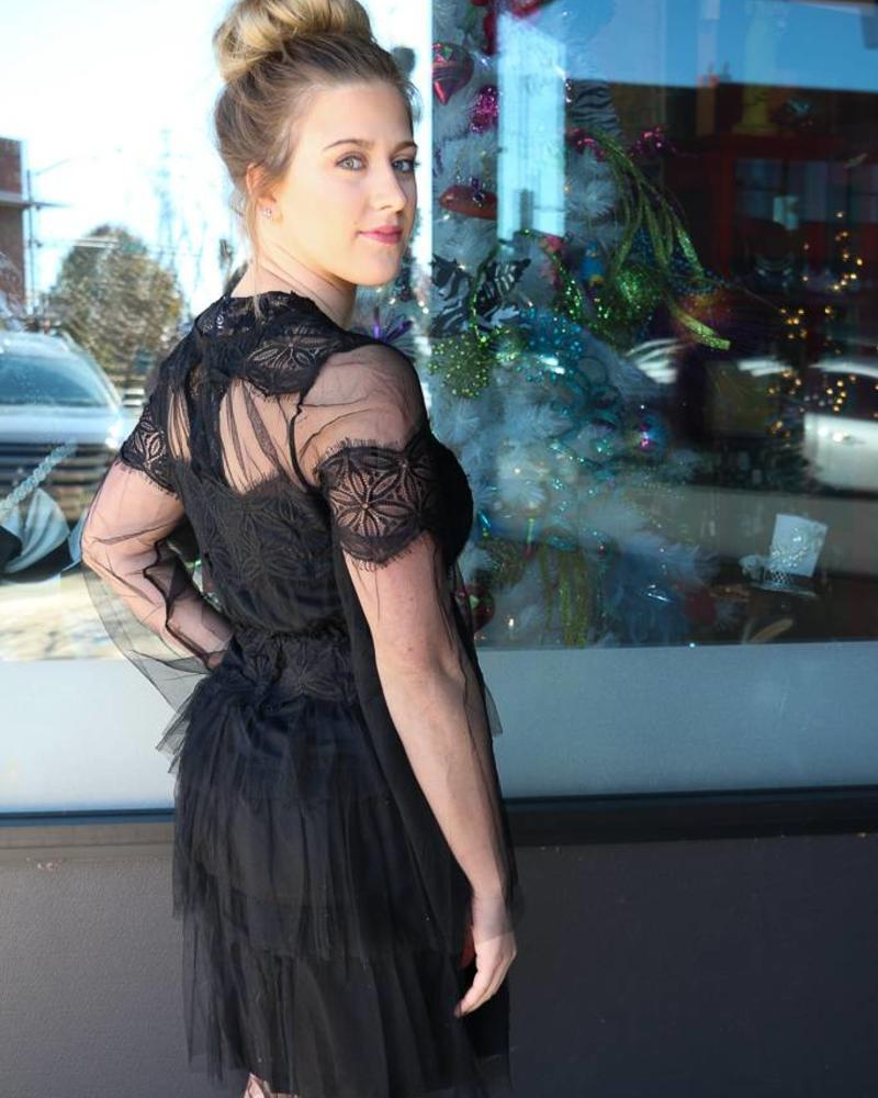 Layered Little Black Dress -