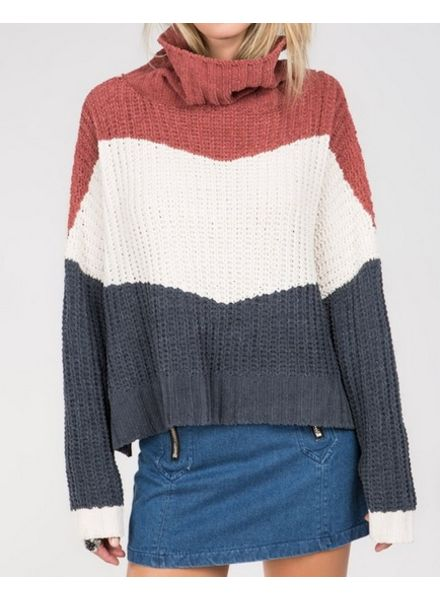 Ginger Rose Color Block Sweater -