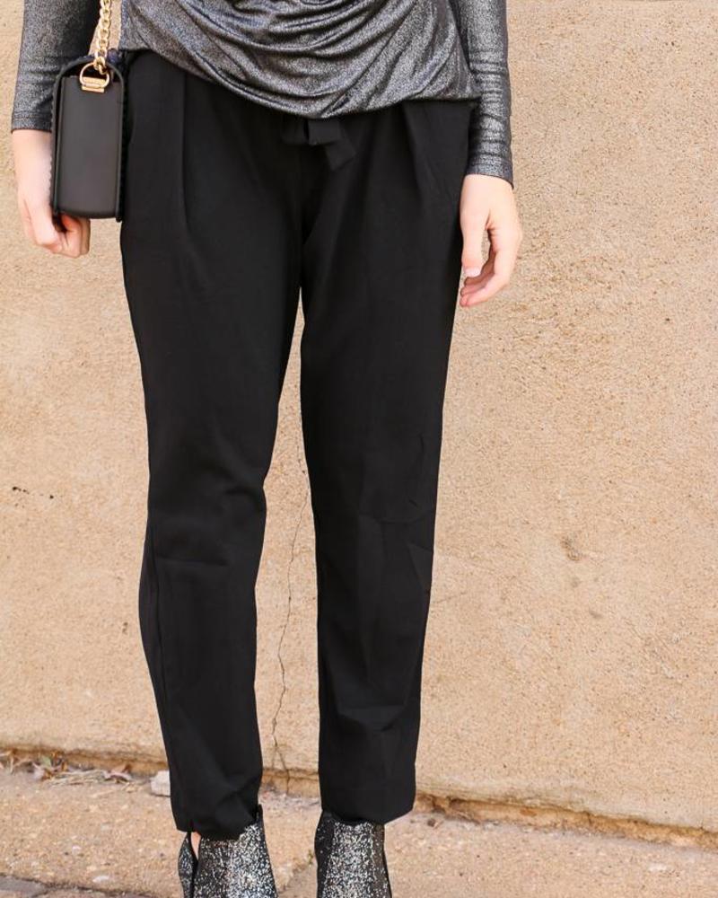 Black Trouser Pant -
