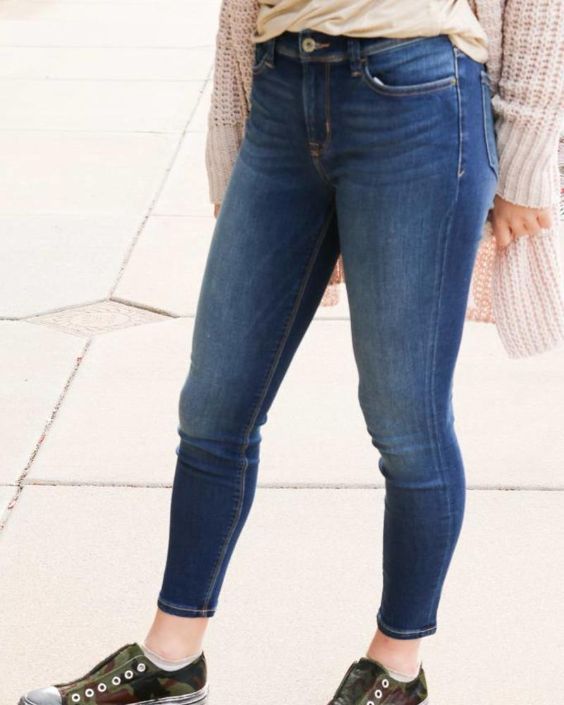 Sneak Peek Medium Wash Skinny - Sneak Peek  Denim