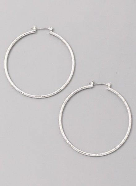 pomina Large hoop earring