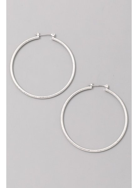 pomina Large hoop earring