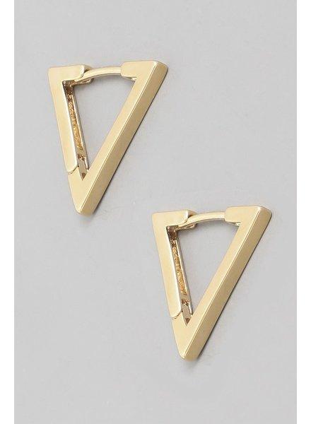 Tri hoop earring