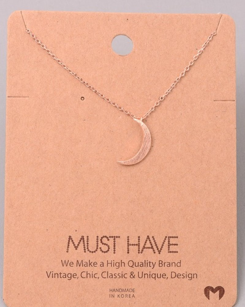 Must have Crescent chain necklace