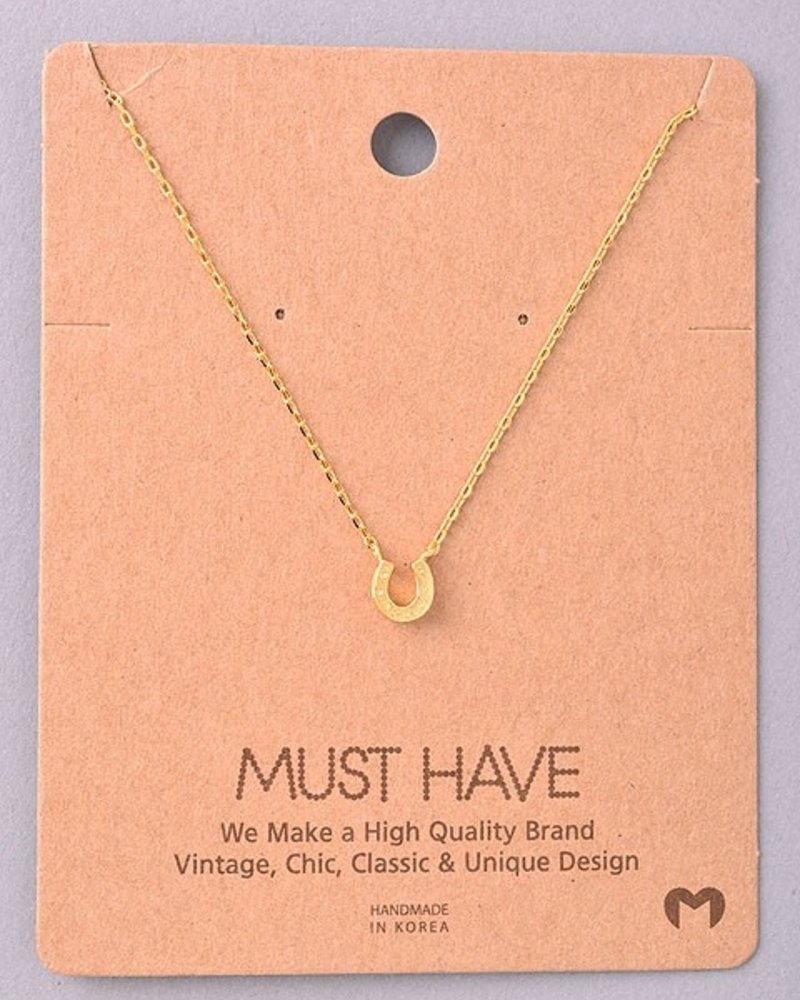 Must Have Horseshoe chain necklace