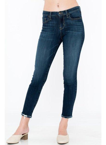 Sneak Peek Sneak Peek Dark Ankle Skinny Jeans Size 1/25