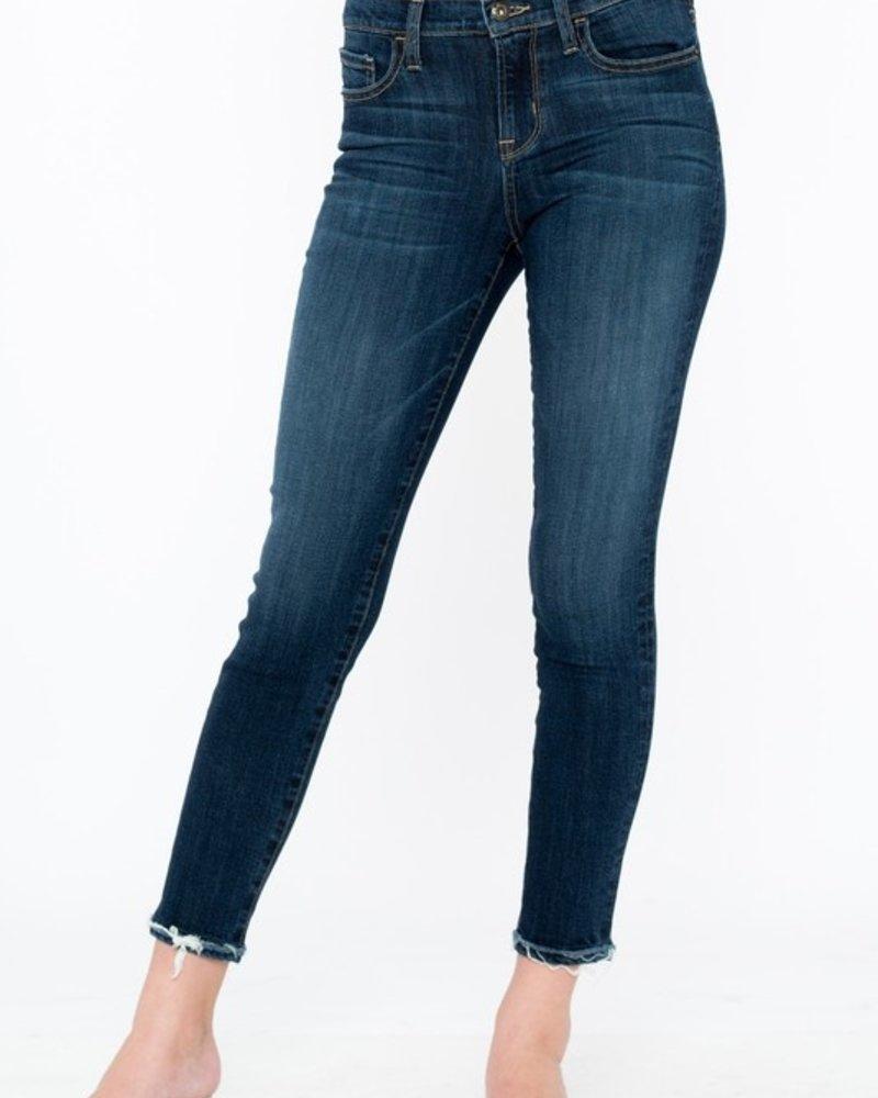 Sneak Peek Sneak Peek Dark Ankle Skinny Jeans Size 3/26