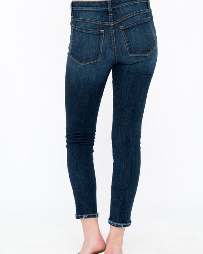 Sneak Peek Sneak Peek Dark Ankle Skinny Jeans Size 11/30