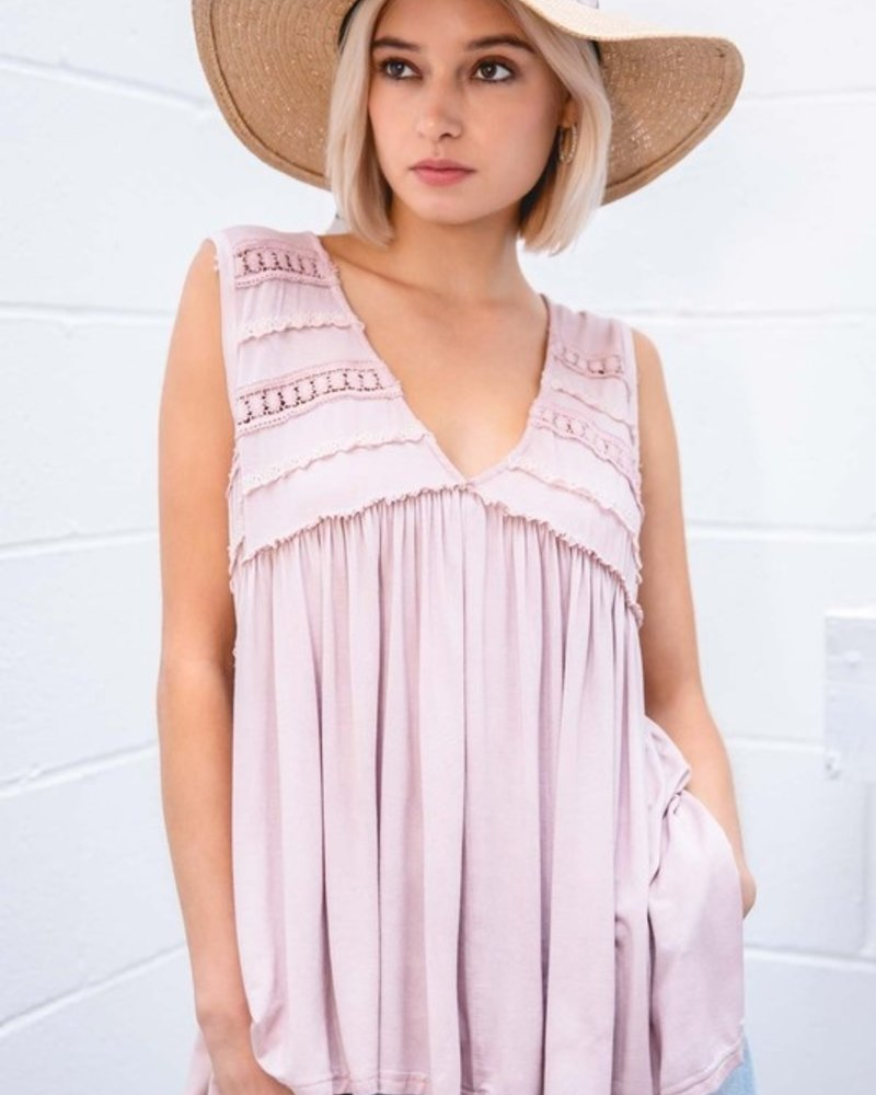 Pink Tunic Top L