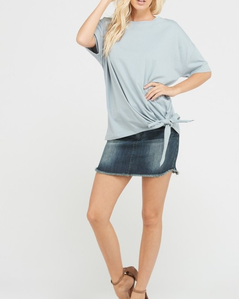 Wishlist Cloud side knot top MD