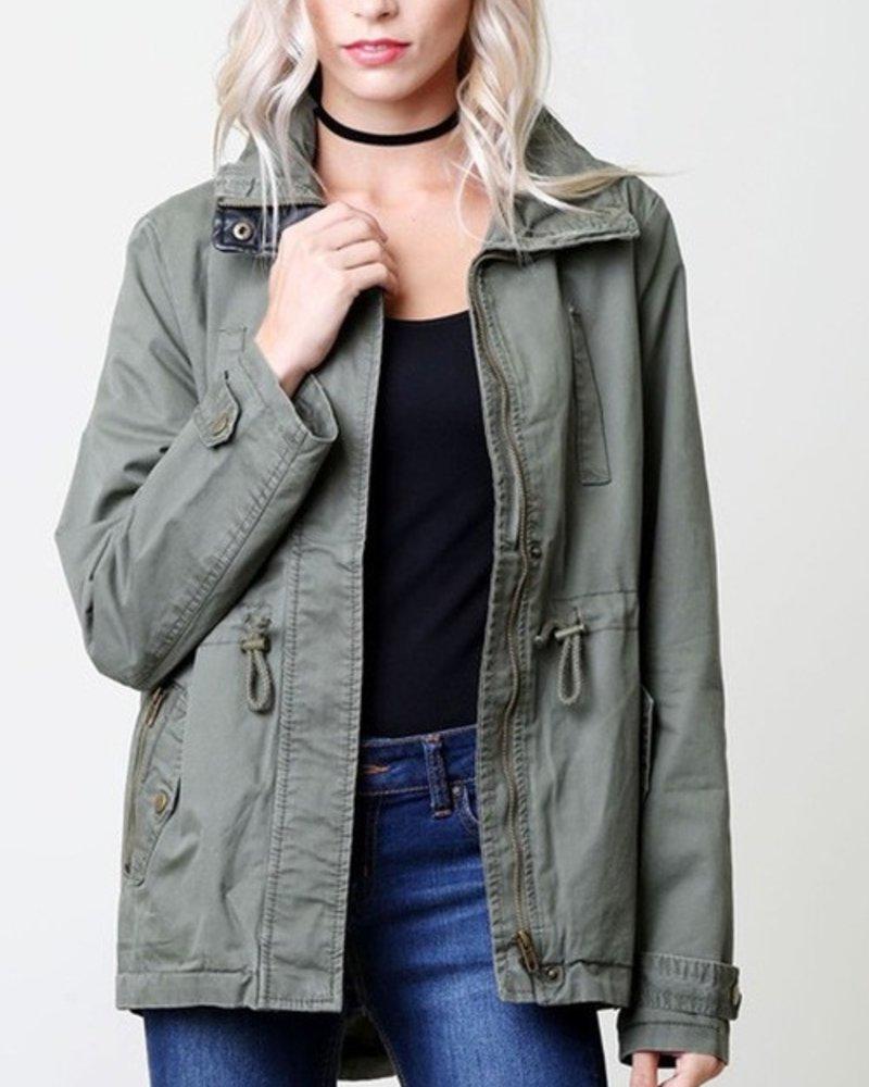 1 Style Military Jacket Size Medium