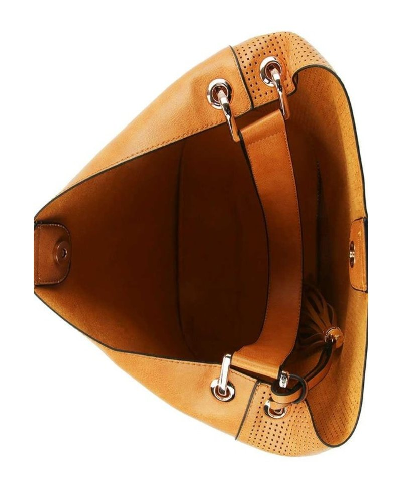Handbag Republic Classic 2 in 1 Fashion Tassel Satchel Bag