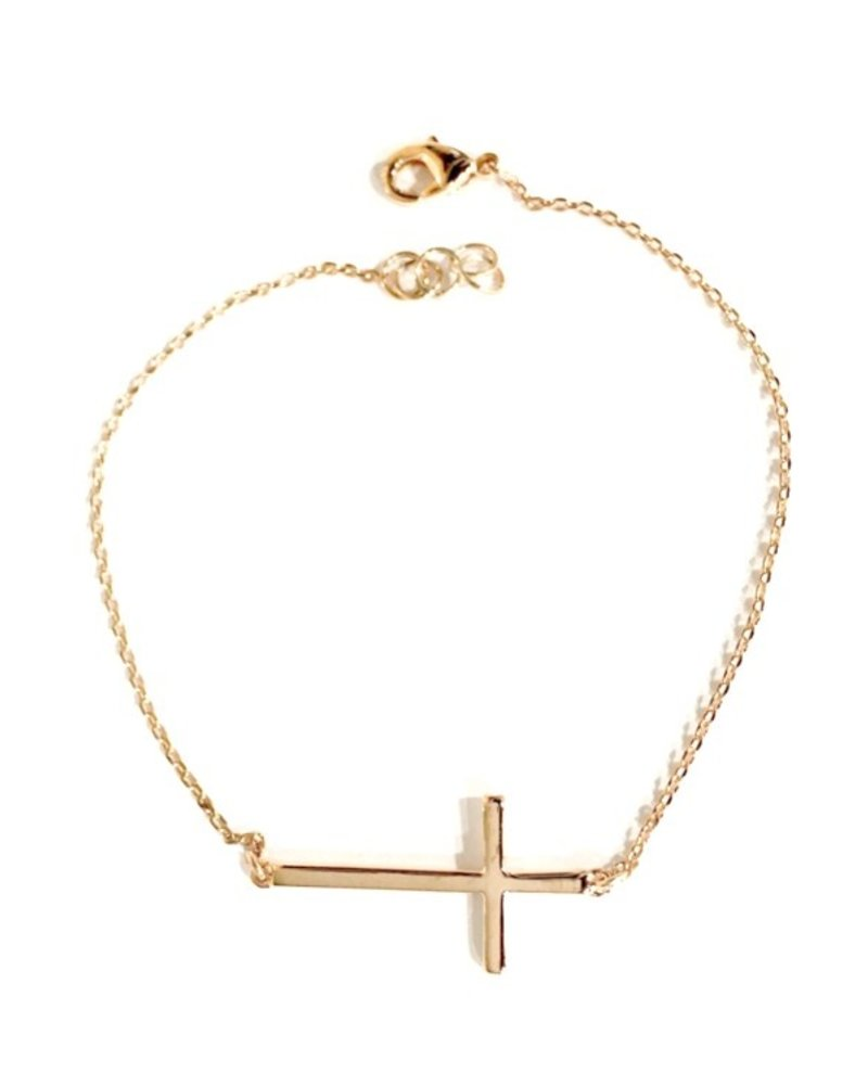 Fresh & Co Cross chain bracelet