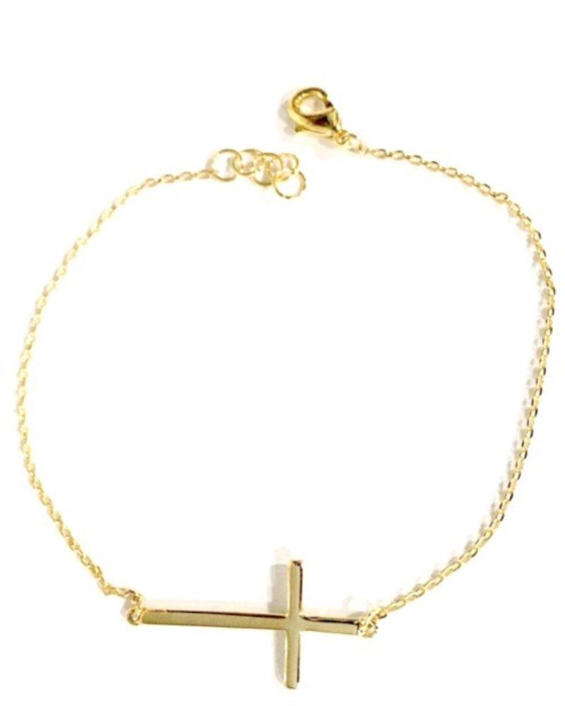 Fresh & Co Cross chain bracelet
