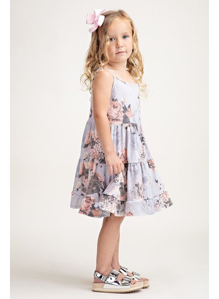 12PM Kids Floral Sleeveless Dress