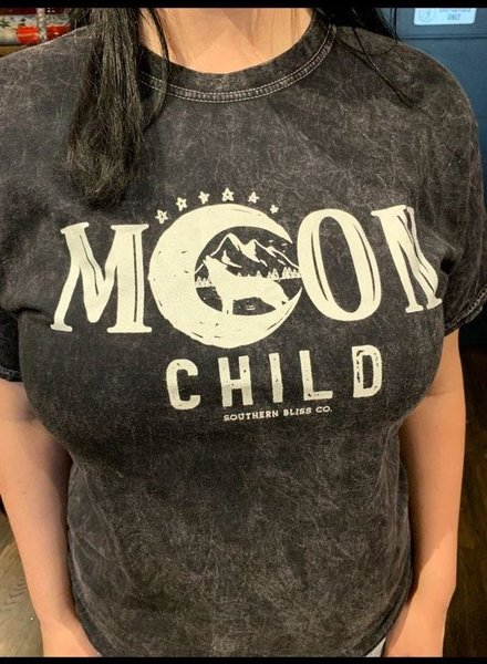 Southern Bliss Company Moon Child Tee