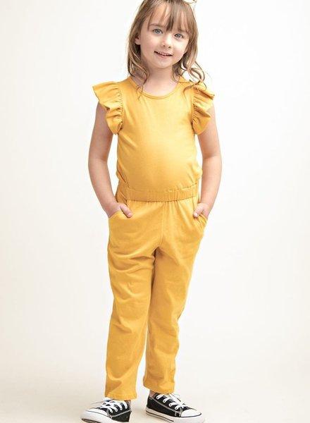 12PM Kids Sleeveless Full Length Jumpsuit