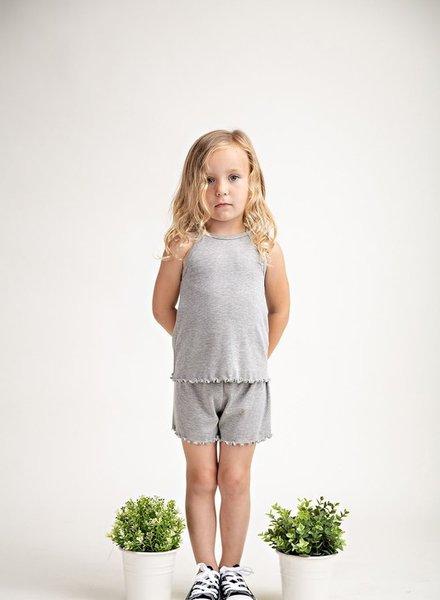 12PM Kids Ribbed Pajama Set