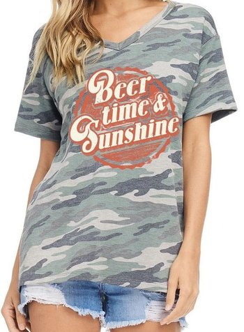 Zutter Beer Time & Sunshine Tee