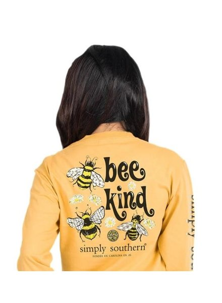Simply Southern Bee Kind LS Shirt