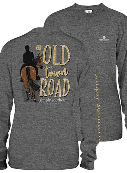 Simply Southern Old Town LS Shirt